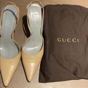 Gucci Nude Pumps
